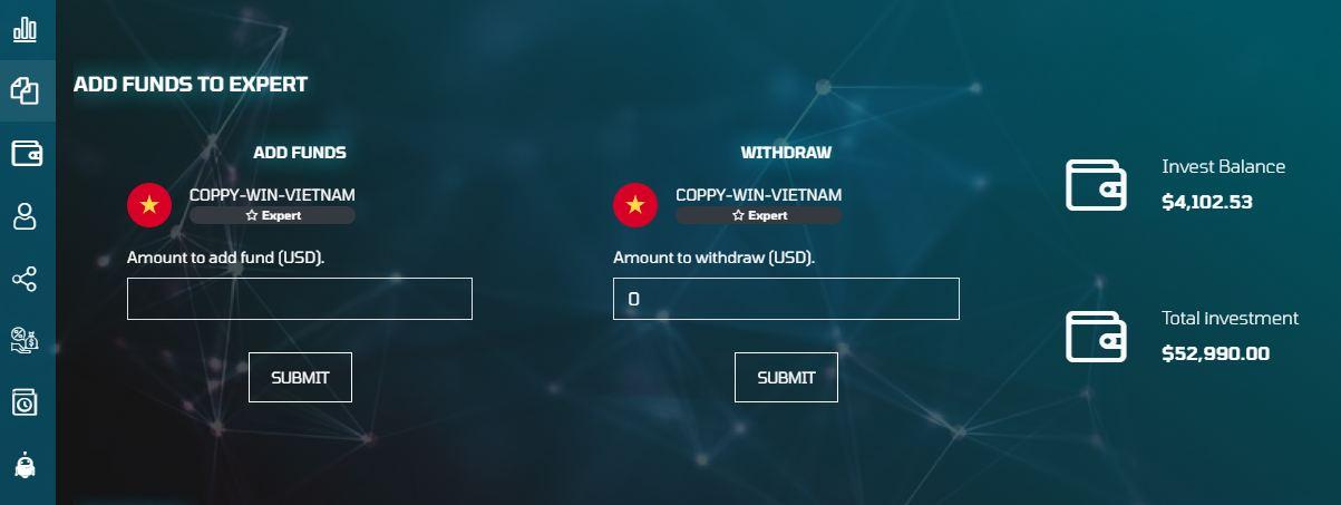 Magic Option copy trade